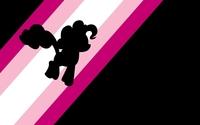 Pinkie Pie on pink rainbow - My Little Pony wallpaper 1920x1080 jpg