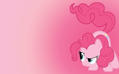Pinkie Pie ready to fight - My Little Pony wallpaper