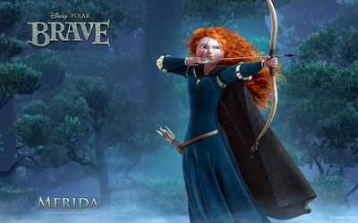 Princess Merida - Brave wallpaper