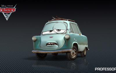 Professor Z - Cars 2 wallpaper
