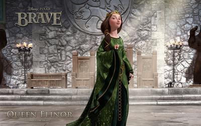 Queen Elinor - Brave wallpaper