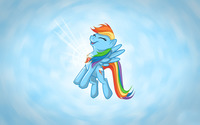 Rainbow Dash [6] wallpaper 2560x1600 jpg