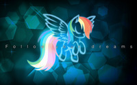 Rainbow Dash - My Little Pony Friendship is Magic [5] wallpaper 2560x1440 jpg