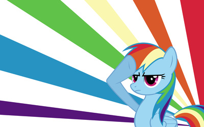 Rainbow Dash - My Little Pony Friendship Is Magic [3] wallpaper