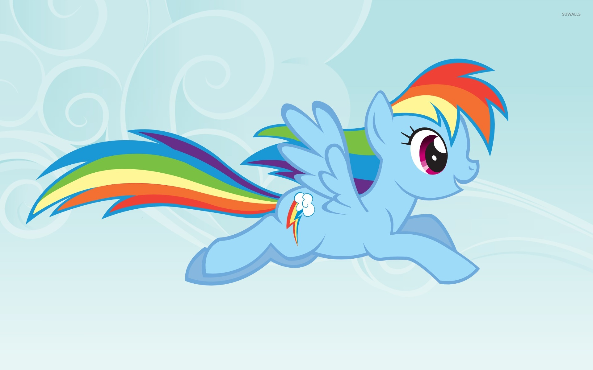 Rainbow Dash My Little Pony Friendship Is Magic 2 Wallpaper