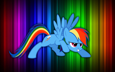 Rainbow Dash - My Little Pony Friendship is Magic [4] wallpaper