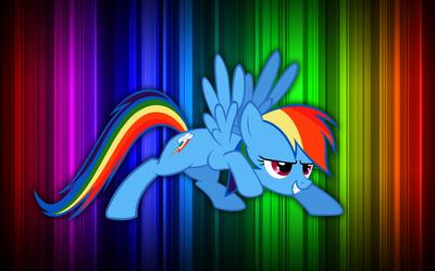 Rainbow Dash - My Little Pony Friendship is Magic [4] Wallpaper