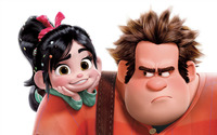 Ralph and Vanellope - Wreck-It Ralph wallpaper 1920x1200 jpg