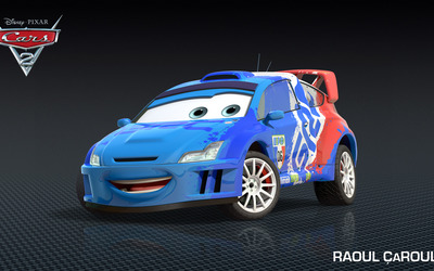 Raoul Caroule - Cars 2 wallpaper