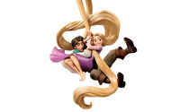 Rapunzel and Flynn Rider - Tangled [2] wallpaper 2560x1600 jpg