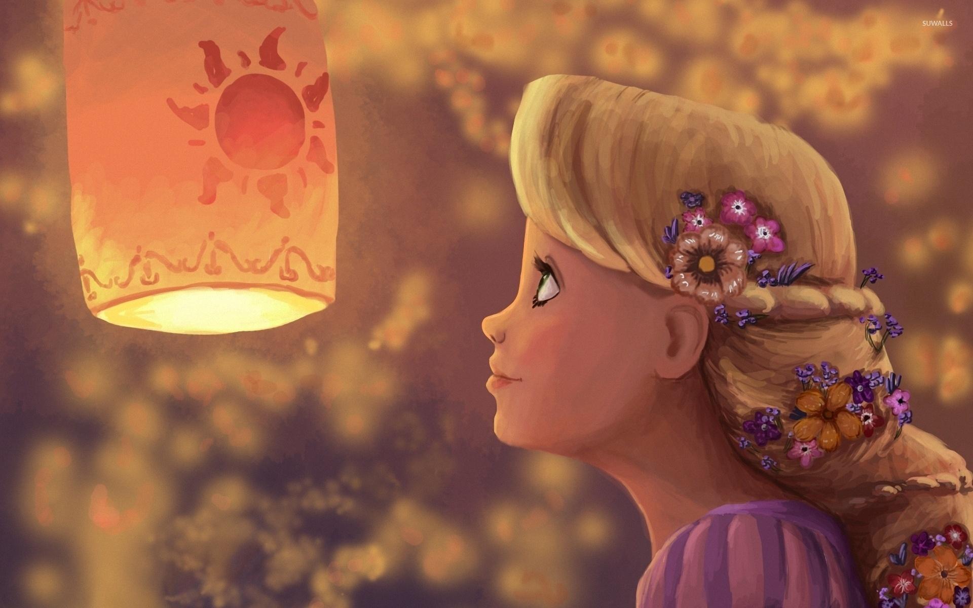 rapunzel - tangled [2] wallpaper - cartoon wallpapers - #44965
