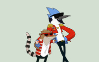 Rigby and Mordecai - Regular Show wallpaper 2880x1800 jpg
