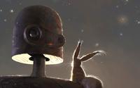 Robot from Castle in the Sky wallpaper 2560x1440 jpg