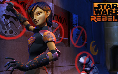 Sabine - Star Wars Rebels wallpaper