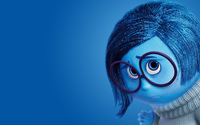 Sadness in Inside Out wallpaper 2560x1440 jpg