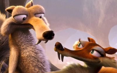 Scrat - Ice Age wallpaper