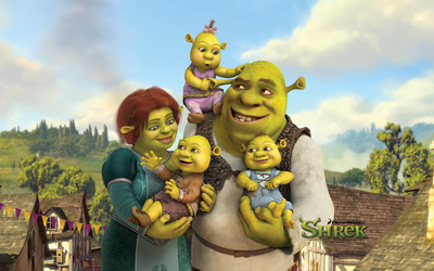 Shrek Forever After wallpaper