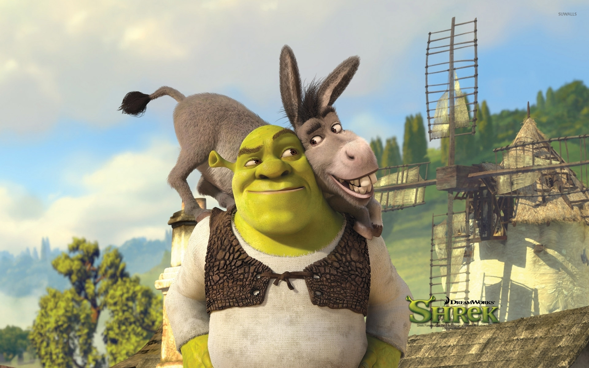 Shrek Forever After 2 Wallpaper Cartoon Wallpapers 9507