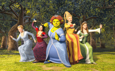Shrek the Third wallpaper