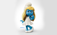 Smurfette - The Smurfs 2 wallpaper 1920x1200 jpg