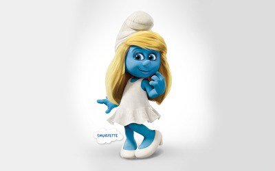 Smurfette - The Smurfs 2 wallpaper