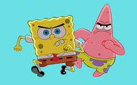 SpongeBob and Patrick wallpaper 2560x1600 jpg