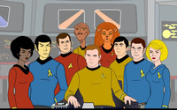 Star Trek: The Animated Series wallpaper 2560x1440 jpg