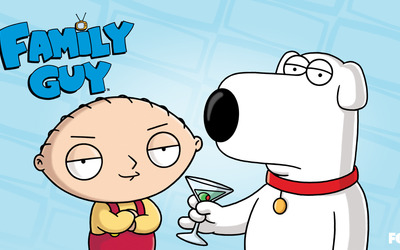 Stewie and Brian wallpaper