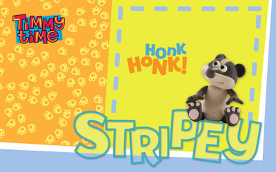 Stripey - Timmy Time wallpaper