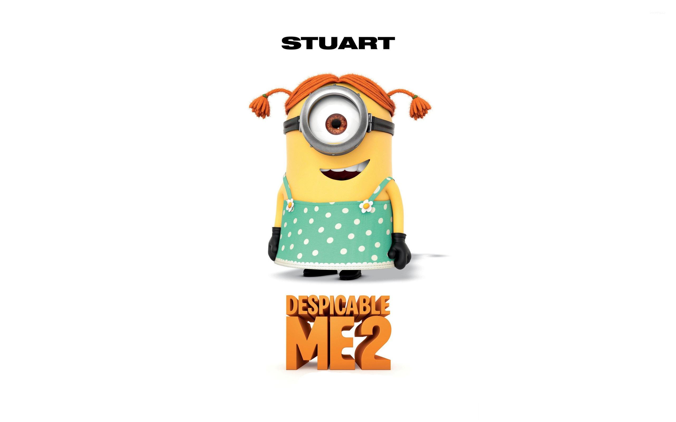 Stuart - Despicable Me 2 wallpaper - Cartoon wallpapers - #22653