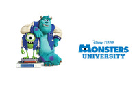 Sulley and Mike Wazowski - Monsters University [3] wallpaper 2560x1600 jpg
