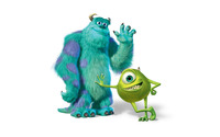 Sulley and Mike Wazowski - Monsters University [2] wallpaper 1920x1200 jpg
