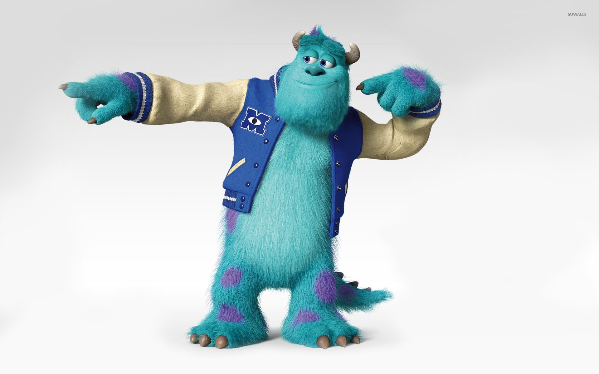 Sulley monsters university wallpaper cartoon wallpapers 20636 sulley monsters university wallpaper voltagebd Images