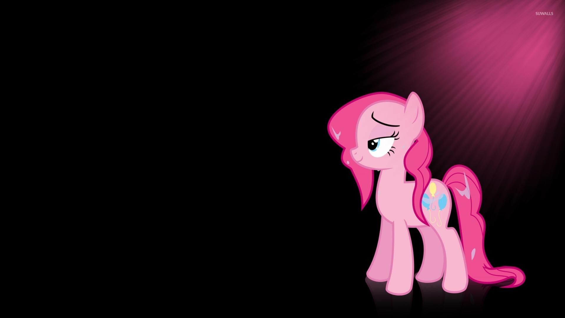 Sun Light Upon Pinkie Pie My Little Pony Wallpaper Cartoon