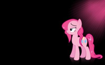 Sun light upon Pinkie Pie - My Little Pony wallpaper