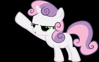 Sweetie Belle wallpaper 2560x1600 jpg