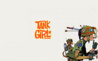 Tank girl wallpaper
