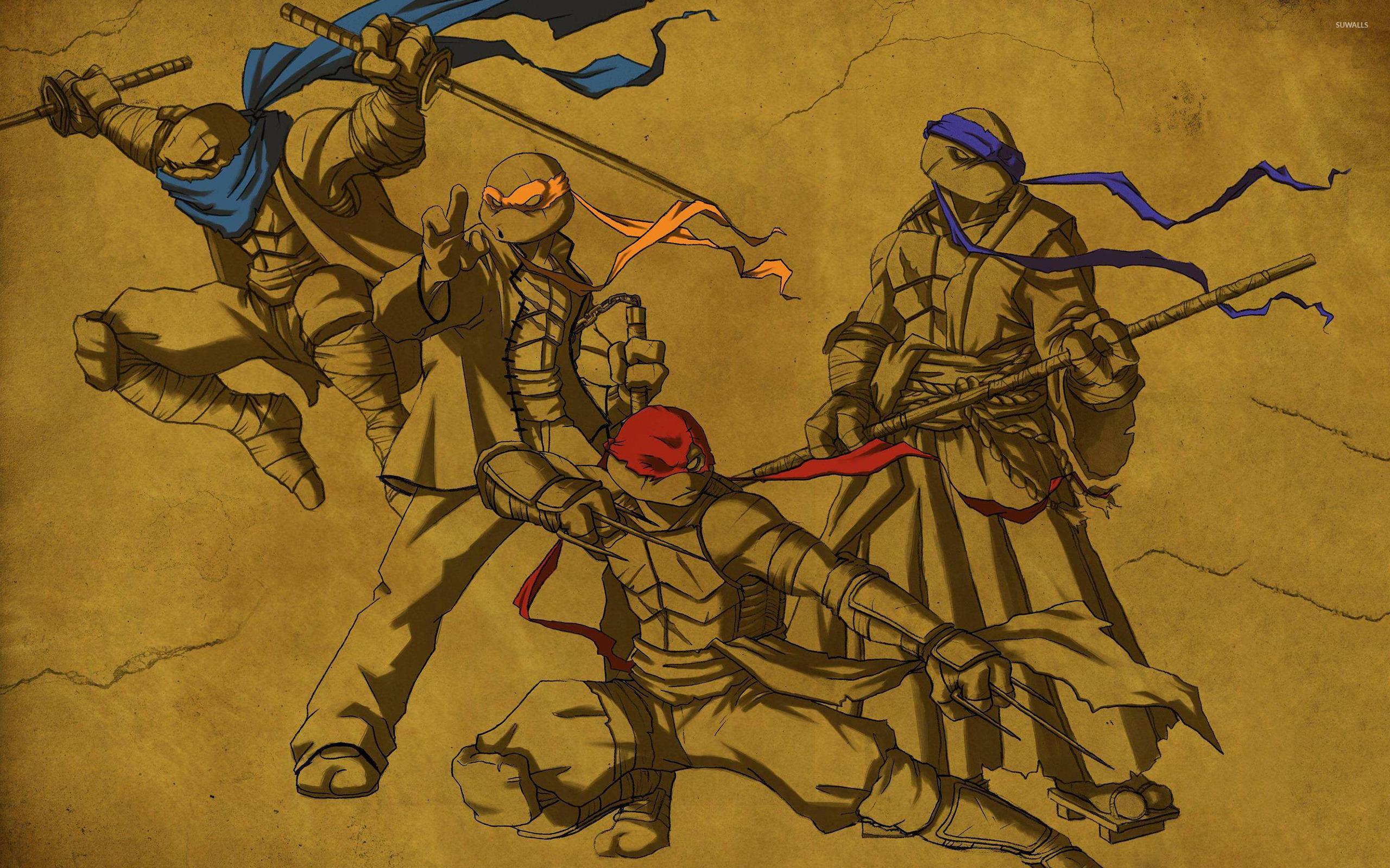 Teenage Mutant Ninja Turtles [3] wallpaper 2560x1600 jpg