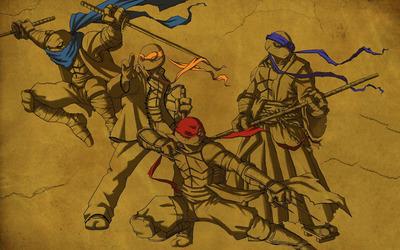 Teenage Mutant Ninja Turtles [3] wallpaper