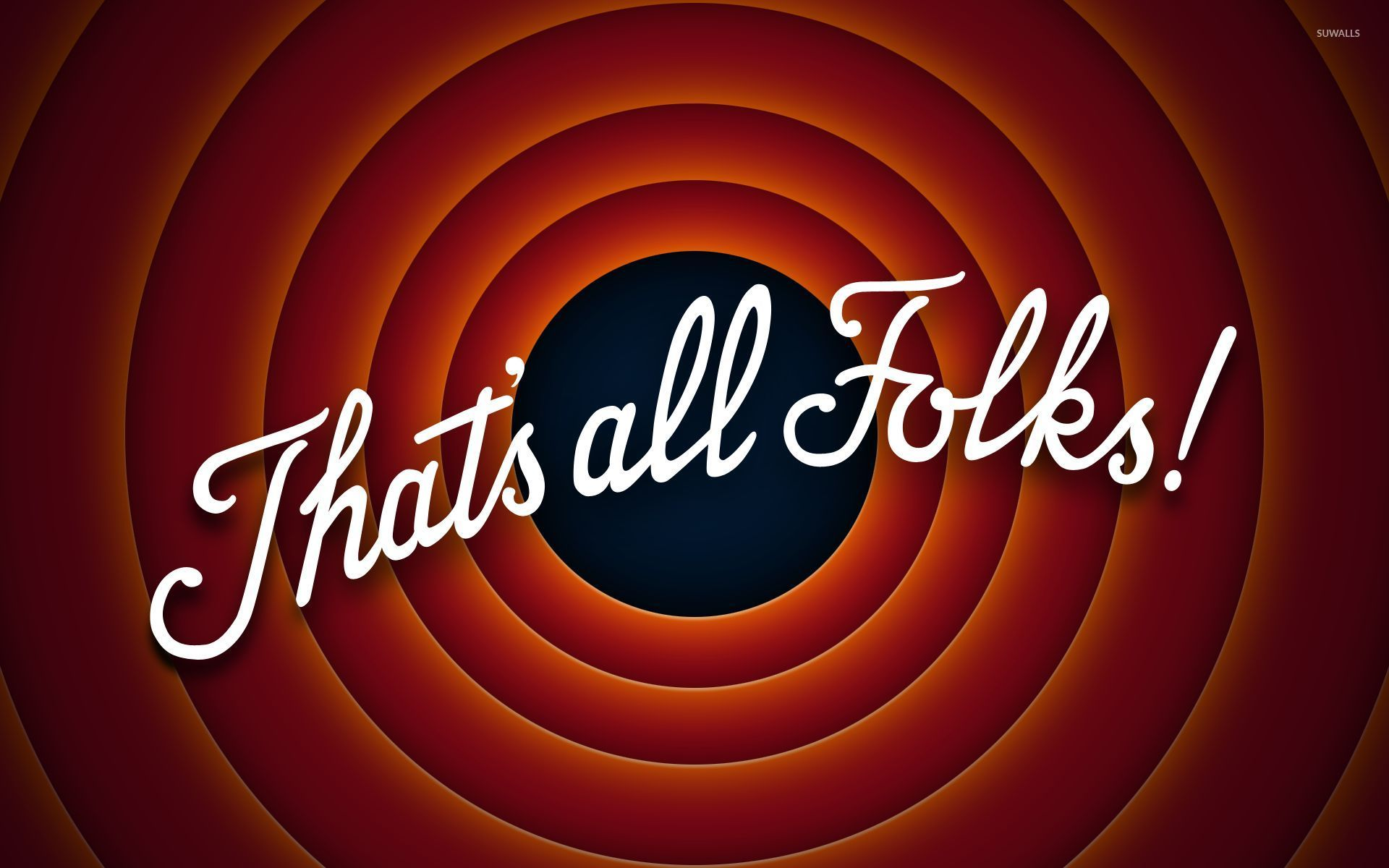 That's all folks! Vector   free download.