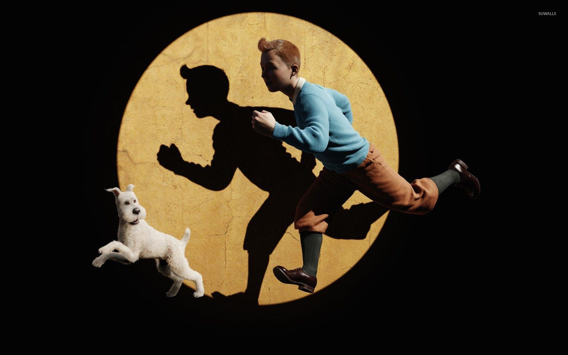 the adventures of tintin - the secret of the unicorn [3] wallpaper