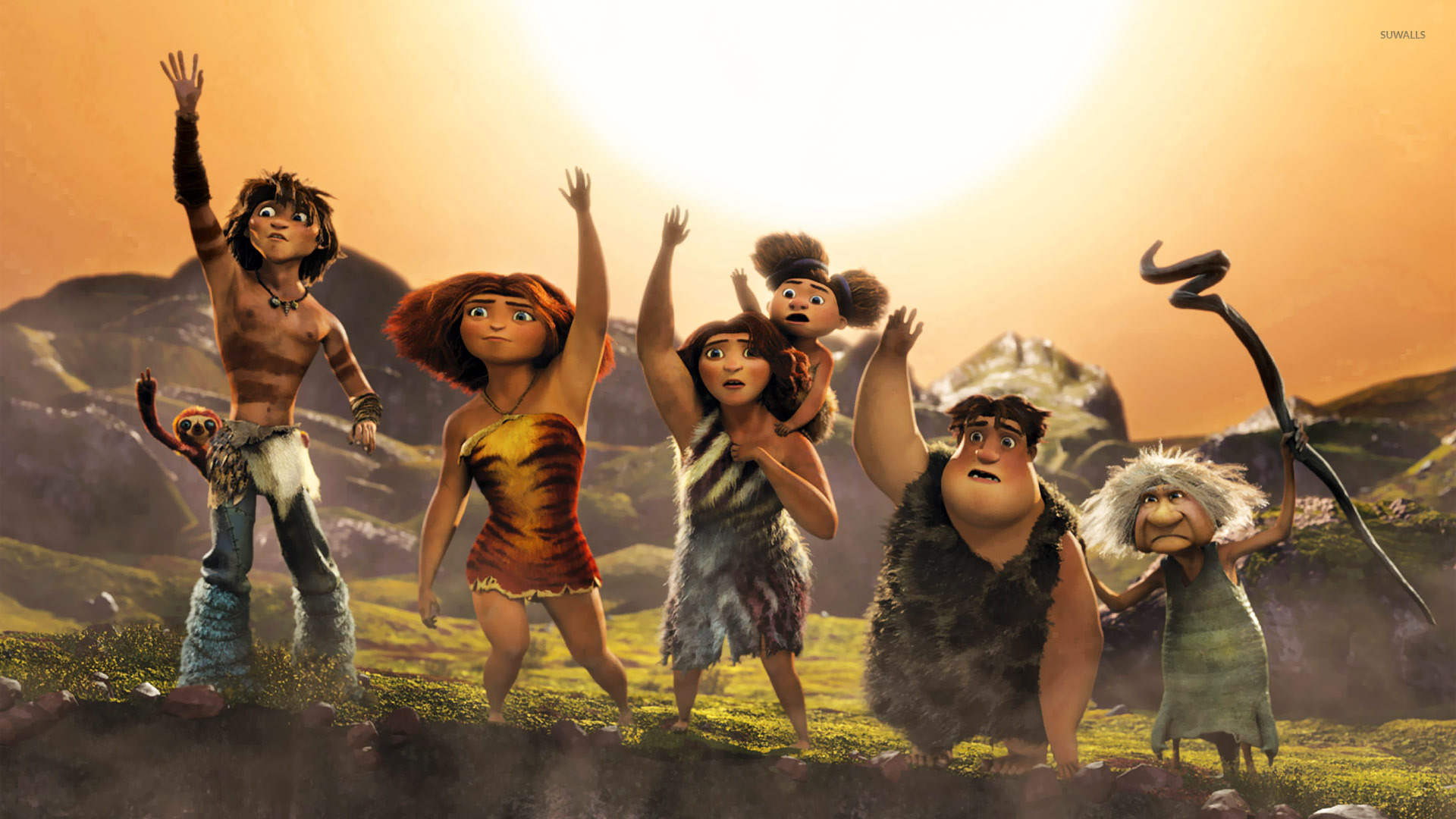 The croods 2 wallpaper cartoon wallpapers 19178 the croods 2 wallpaper voltagebd Gallery