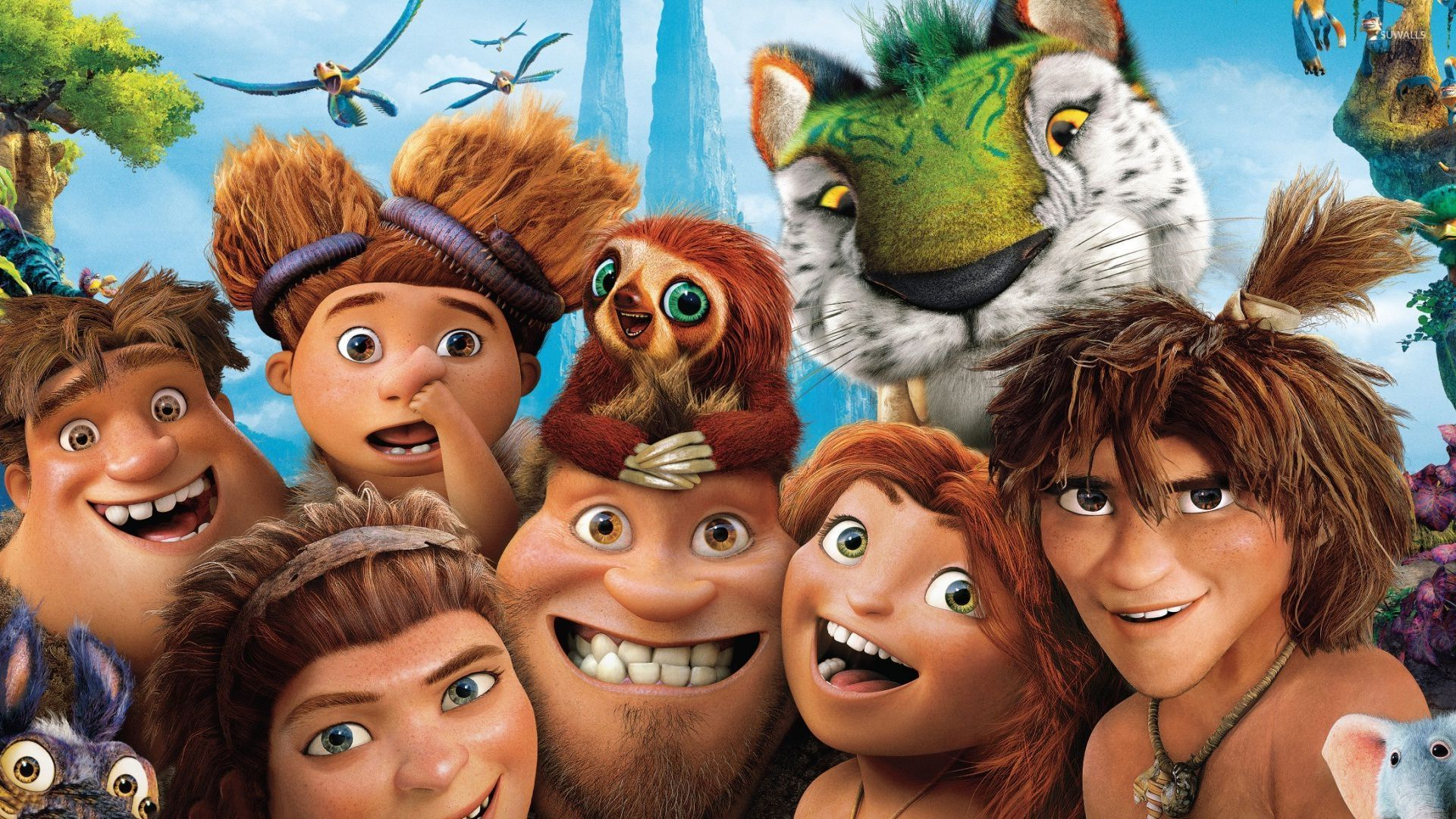 The croods 4 wallpaper cartoon wallpapers 32722 the croods 4 wallpaper voltagebd Gallery