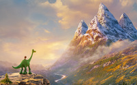 The Good Dinosaur wallpaper 1920x1200 jpg