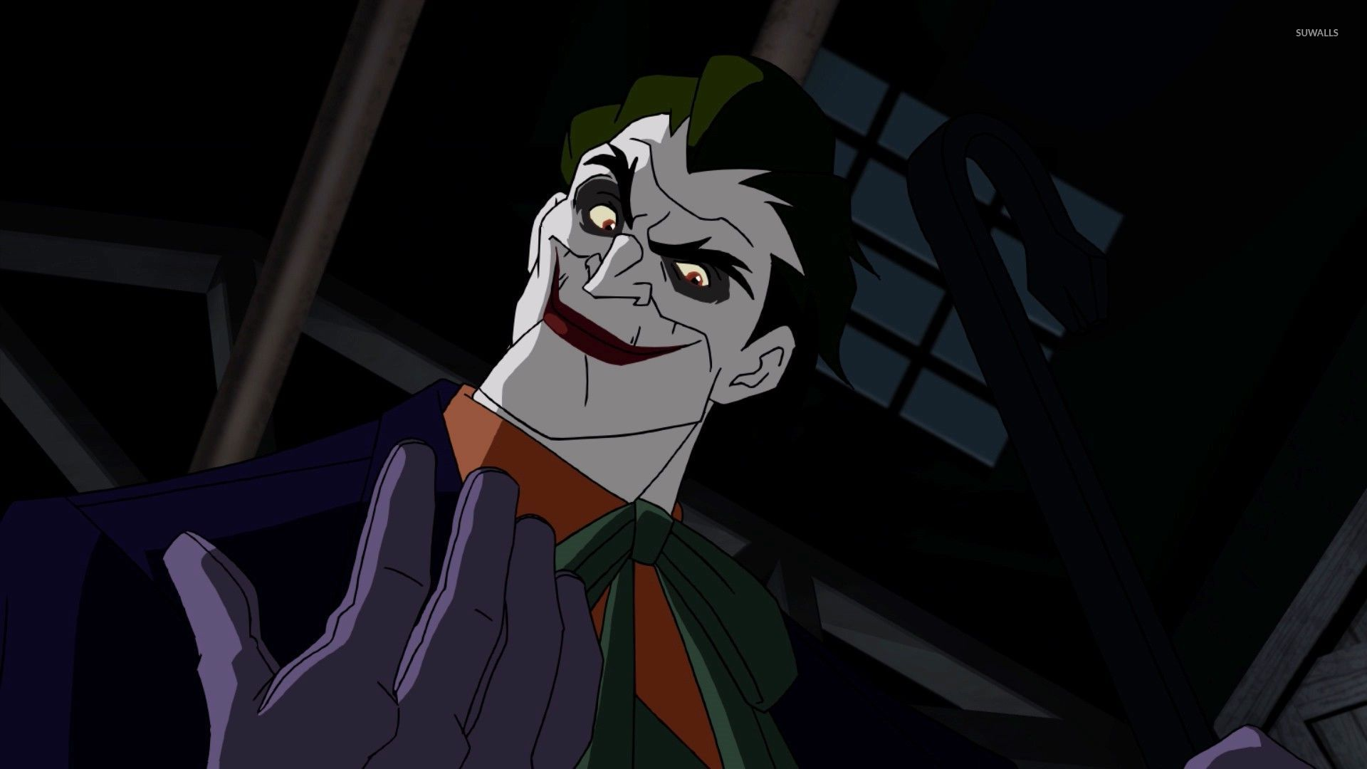 The joker in batman under the red hood wallpaper cartoon the joker in batman under the red hood wallpaper voltagebd Choice Image