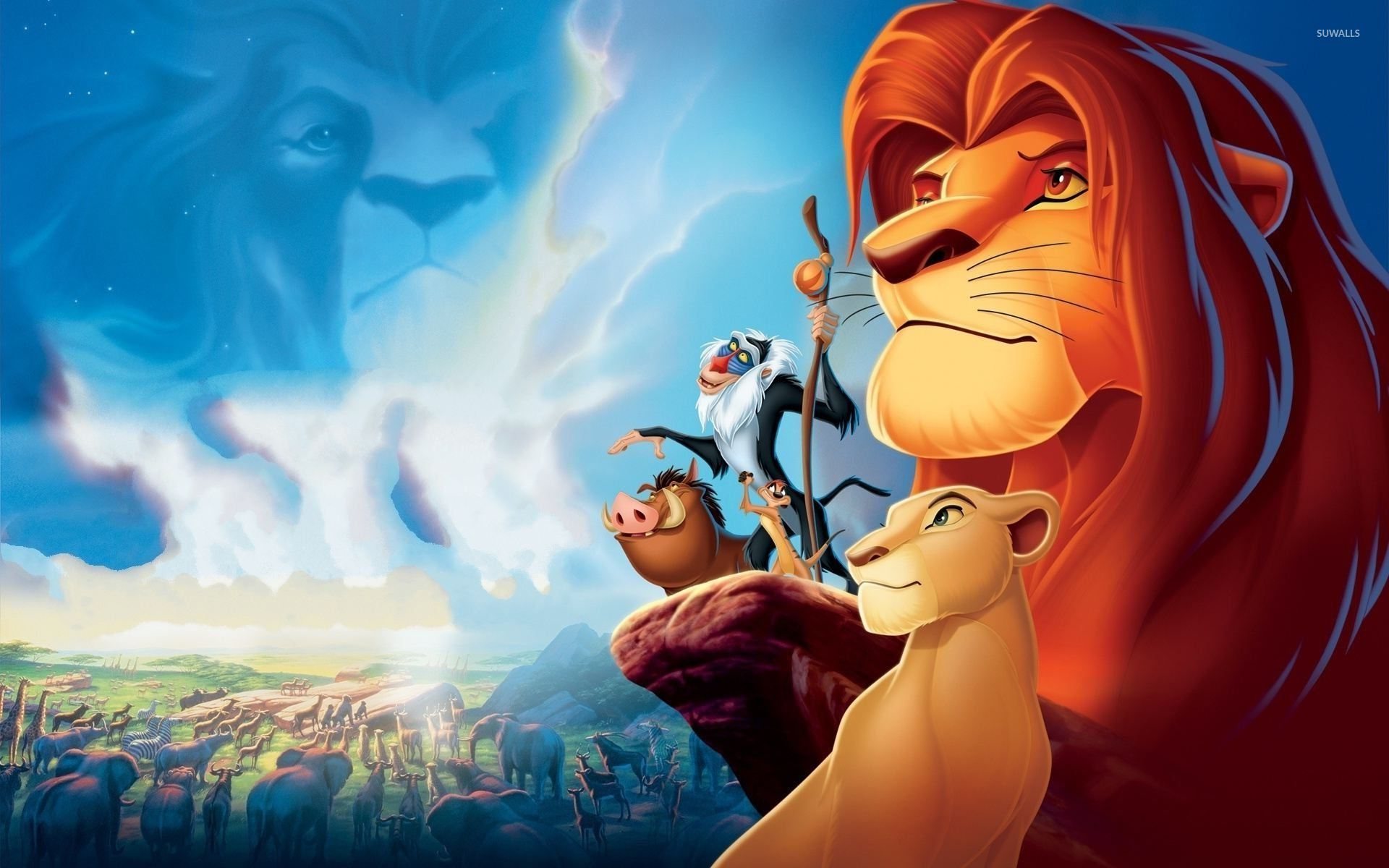 The Lion King 2 Simbas Pride Wallpaper