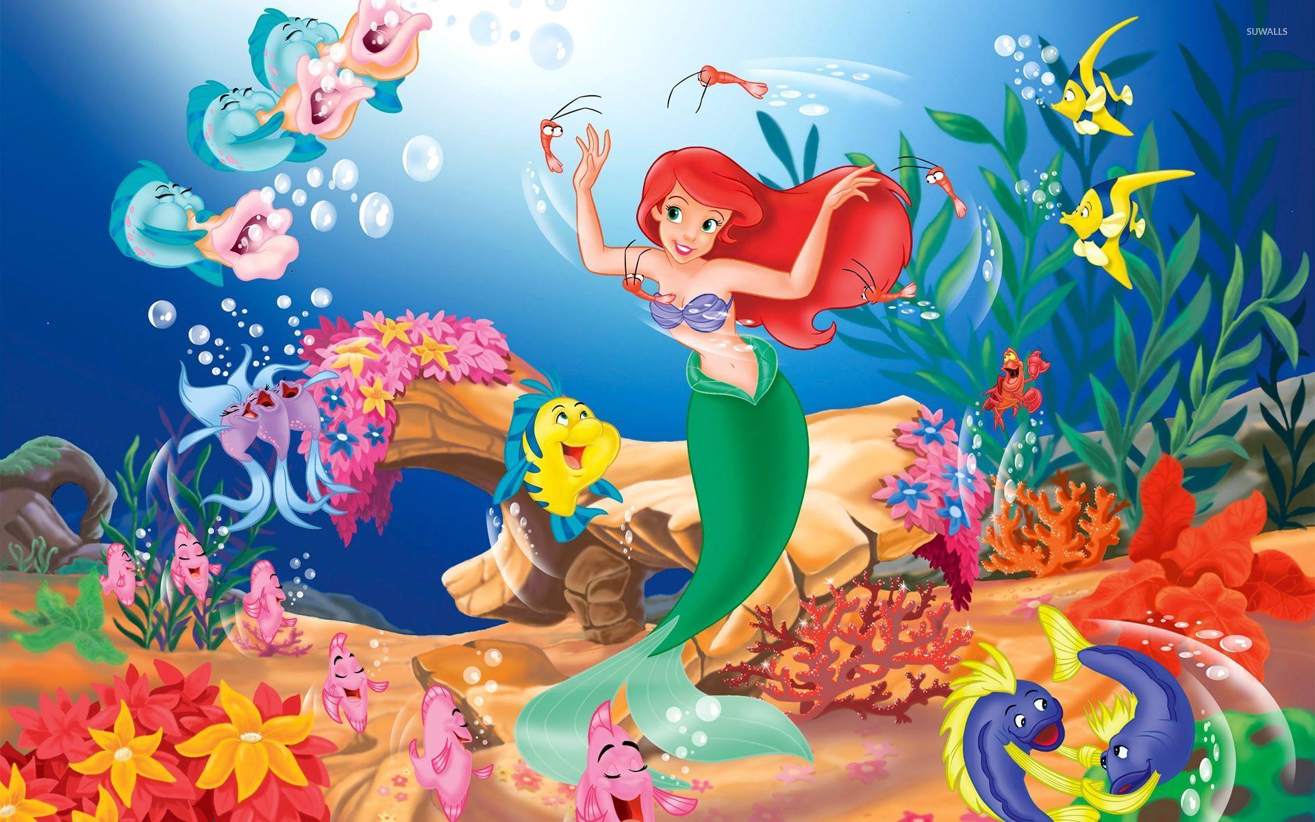 The Little Mermaid Wallpaper Cartoon Wallpapers 12021