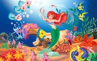 The Little Mermaid wallpaper 1920x1200 jpg