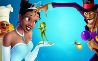 The Princess and the Frog wallpaper 1920x1080 jpg