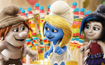 The Smurfs 2 [5] wallpaper